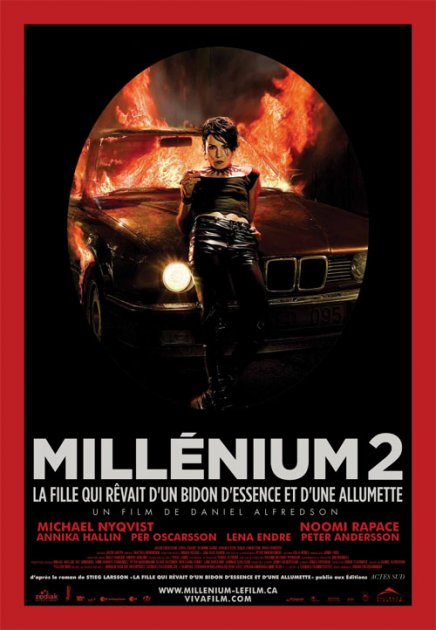Millenium 2 : affiche canadienne et trailer VF