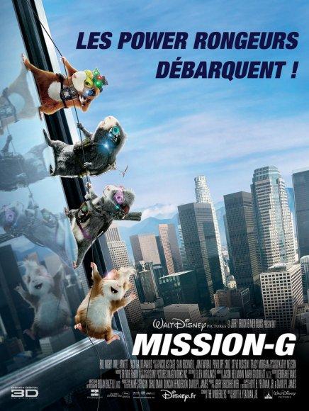 Nouvelle affiche française de Mission G, avec Nicolas Cage