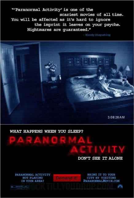 Brian De Palma en négociations pour réaliser Paranormal Activity 2