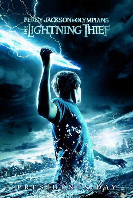 Une affiche pour Percy Jackson