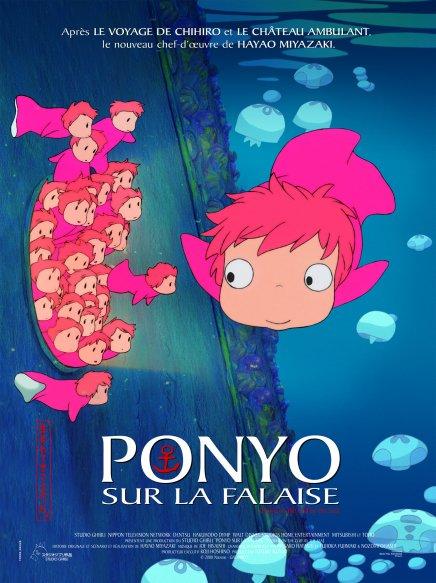 Sortie de Ponyo en Blu-Ray et DVD