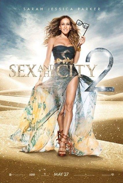 Critique de Sex and the City 2 avec Sarah Jessica Parker