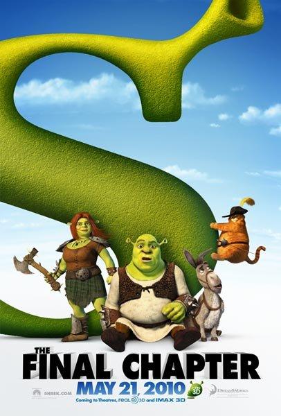 Première bande-annonce de Shrek 4, Il était une fin