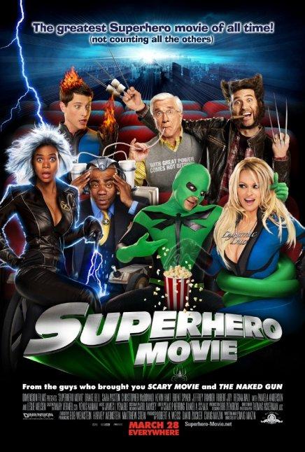 Super Héros Movie : l'affiche désopilante ?