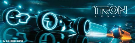 Des voitures dans Tron Legacy