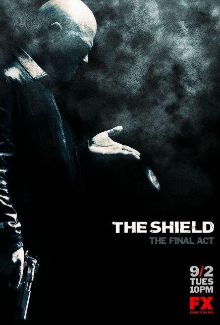 The Shield Saison 7 : Une affiche (magnifique !)